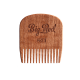 BIG RED BEARD COMB NO.5 - BEARDS TIL DEATH SKULL - SPECIAL EDITION MAKORE