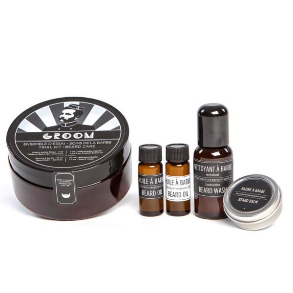 industries groom trial beard care kit barbaware canada montreal. Black Bedroom Furniture Sets. Home Design Ideas