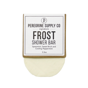 FROST SHOWER BAR - PEREGRINE SUPPLY CO - BODY & HAIR SHAMPOO