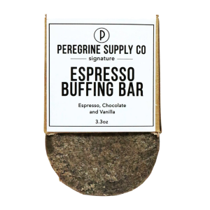ESPRESSO BUFFING BAR - PEREGRINE SUPPLY CO - BODY SCRUB