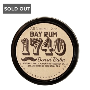BAY RUM - 1740 BEARD BALM - 2 OZ