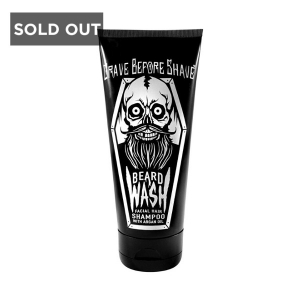 FISTICUFFS GRAVE BEFORE SHAVE BEARD WASH AND SHAMPOO - 177 ml
