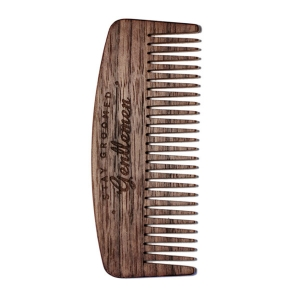NOYER NO.9 - PEIGNE À BARBE BIG RED BEARD COMBS - DENTS FINES