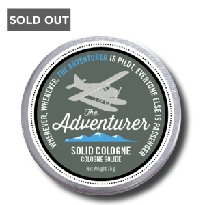 WALTON WOOD FARM MEN DON'T STINK THE ADVENTURER SOLID COLOGNE - 75 g