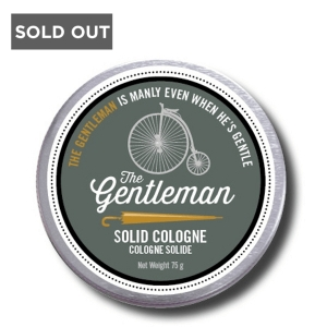 WALTON WOOD FARM MEN DON'T STINK THE GENTLEMAN SOLID COLOGNE - 75 g