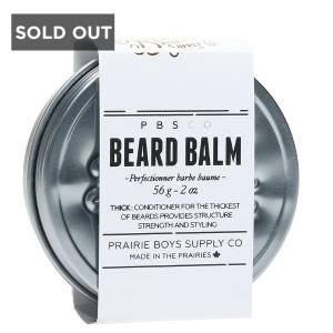 BAUME À BARBE ÉPAIS PRAIRIE BOY SUPPLY CO. - 2 oz