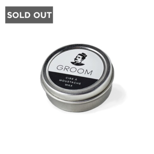 INDUSTRIES GROOM MUSTACHE WAX - 0.5 oz
