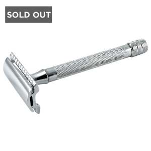 23C STRAIGHT BASE PLATE HEAD - MERKUR SAFETY RAZOR DE - LONG HANDLE