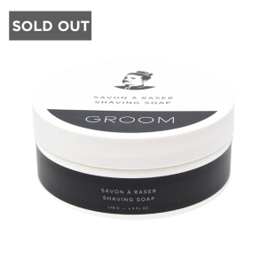 SAVON À RASER - LES INDUSTRIES GROOM - 4.9 OZ