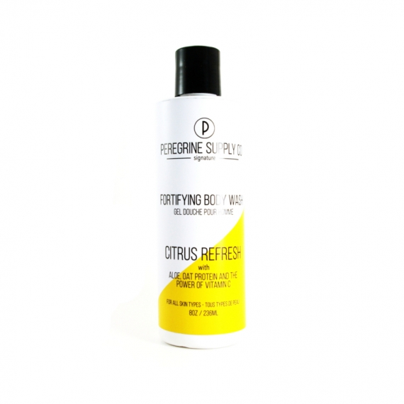 CITRUS REFRESH FORTIFYING BODY WASH - PEREGRINE SUPPLY CO - 250 ML