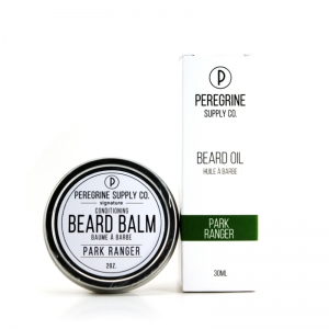 PARK RANGER BEARD GROOMING COMBO - PEREGRINE SUPPLY - BEARD OIL AND BEARD BALM