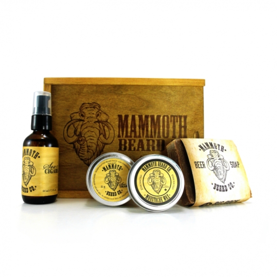 SEX & CIGARS - MAMMOTH BEARD CO - BOÎTE D'ENTRETIEN DE BARBE