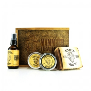THE DEVIL'S RESERVE - MAMMOTH BEARD CO - BEARD GROOMING BOX