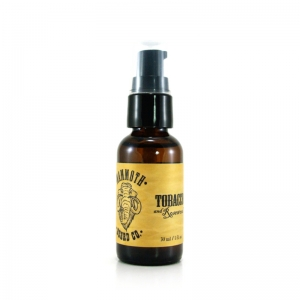 TOBACCO & ROSEWOOD - MAMMOTH BEARD CO - ARGAN CONDITIONING BEARD OIL - 30 ML