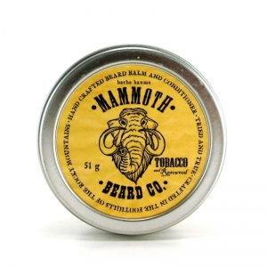 TABAC ET BOIS DE ROSE - MAMMOTH BEARD CO - BAUME À BARBE ET CONDITIONNEUR - 51 G