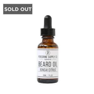 BONSAI CITRUS - PEREGRINE SUPPLY BEARD OIL - 30 ML