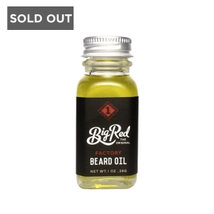 BIG RED FACTORY BEARD OIL - 30 ml