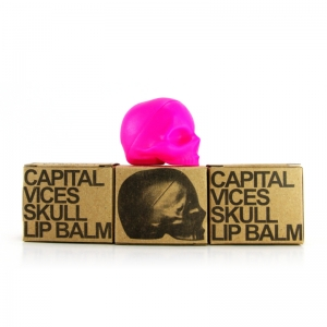 LUXURIA PASSION FRUIT - REBELS REFINERY PINK LIP BALM - UNISEX CAPITAL VICES COLLECTION - 5.5 G
