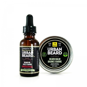 ORIGINAL BEARD CARE COMBO - URBAN BEARD - BEARD OIL & BEARD BALM
