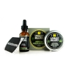 BAY RUM BEARD CARE TRIO - URBAN BEARD - BEARD OIL, BEARD BALM & BEARD WASH