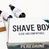 SHAVE BOX CARE KIT - PEREGRINE SUPPLY CO - AFTERSHAVE TONIC, PRESHAVE OIL AND SHAVE & FACE SOAP