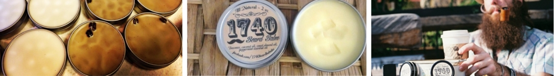 Featured image of the 1740 Beard Balm brand