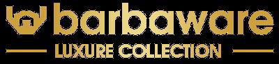 Logo de la collection luxure de Barbaware soins pour hommes
