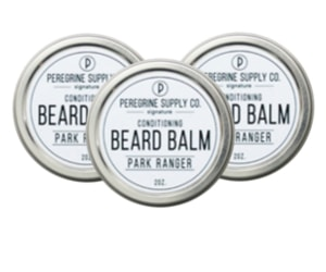 3 Peregrine Supply Park Ranger beard balms