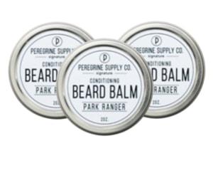 3 Peregrine Supply Park Ranger Beard Balms