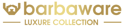 Logo of the Barbaware men's grooming products brand