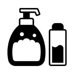 beard shampoo and conditioner icon