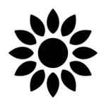 sunflower vegetal oil icon