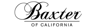 Baxter of California men's grooming brand logo