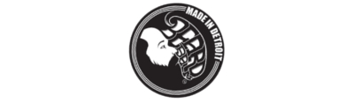 Logo of the Beard Balm Made in Detroit Beard Care Brand