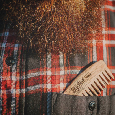 CHERRY NO.9 - BIG RED BEARD COMB