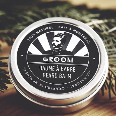BEARD BALM - GROOM BEARD CARE - 2 OZ