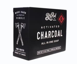 Big Red Beard Combs Charcoal bears soap bar