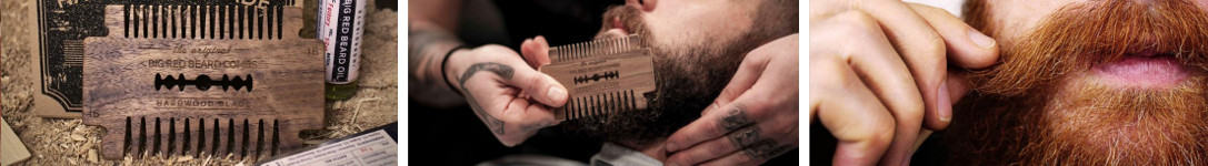 Featured image of the Big Red Beard Comb Brand