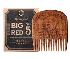 Big Red n° 5 Beards Til Death Skull Beard Comb