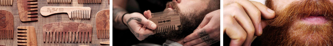 Featured image of the Big Red Beard Comb Beard care brand