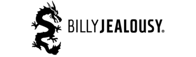Billy Jealousy men's grooming brand logo