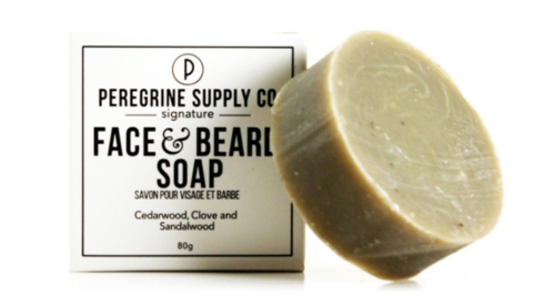 Nettoyant pour le visage et pour la barbe de Peregrine Supply.