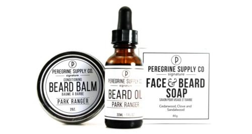 Ensemble de soins de barbe Peregrine Supply