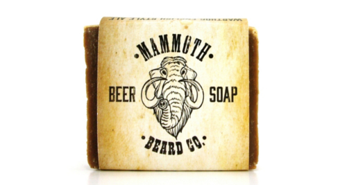 Mammoth beard co warthog ale beard soap
