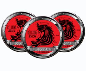 3 Bossman Brands Hammer Scent Relaxing beard balms