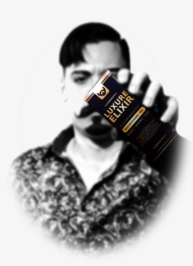 Alexis Daniel CEO Barbaware Luxure Elixir