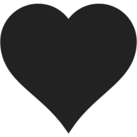 Here is a heart to represent the importance to love himself for what you are