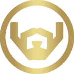 gold barbaware logo