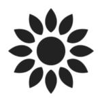sunflower vegetal oil icon
