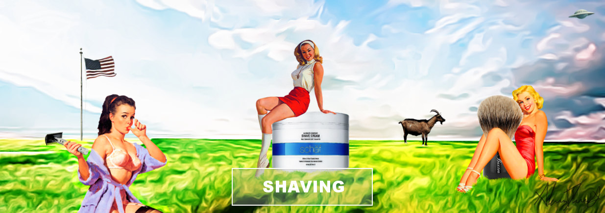 Beard-Kings banner for the Best Razor, shaving, straight and double edge, shave soap - Germany made